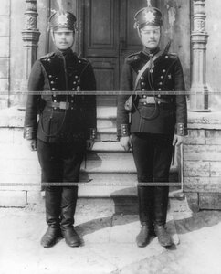 Солдаты бригады в форме.