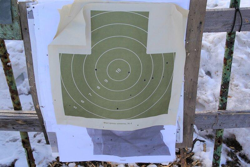 мишень на стрельбище