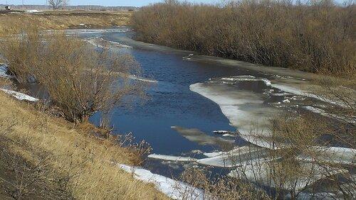 Река Омь, Аспект