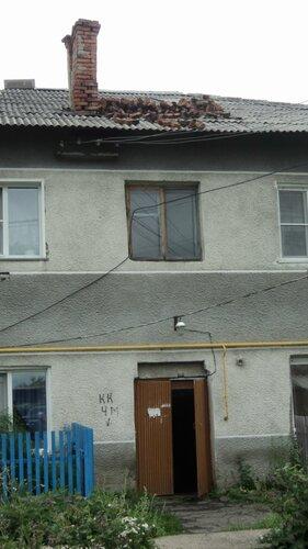 улица Перевозникова после урагана