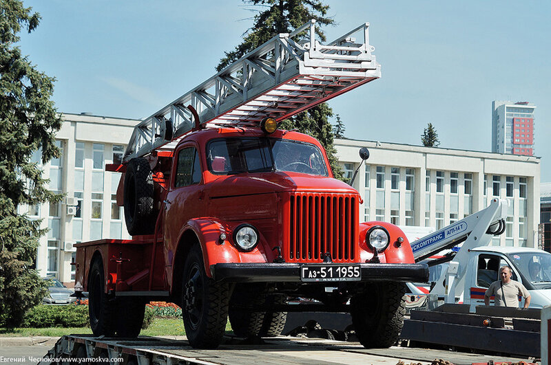 Весна. Пожарные. ГАЗ 51. 19.05.14.08..jpg