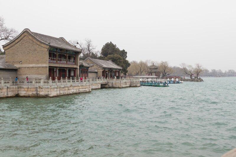 Комплекс построек Зала Нефритовых Волн, парк Ихэюань, Пекин, Летний дворец