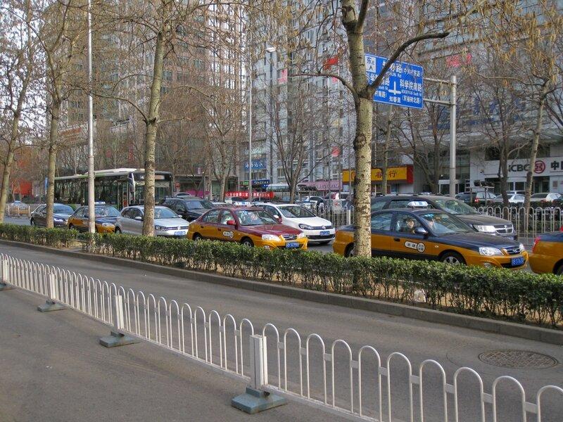 Одна из улиц Пекина