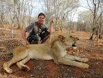 Замбия (Прогулки со львами)