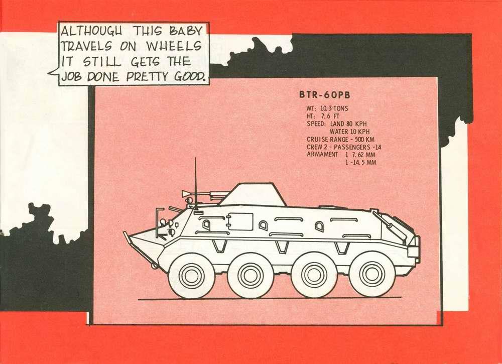 Общий вид бронетранспортера БТР-60