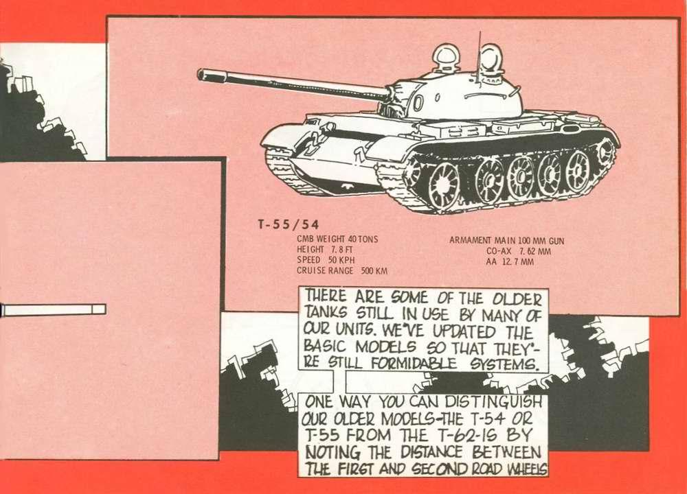 Общий вид танка Т-55