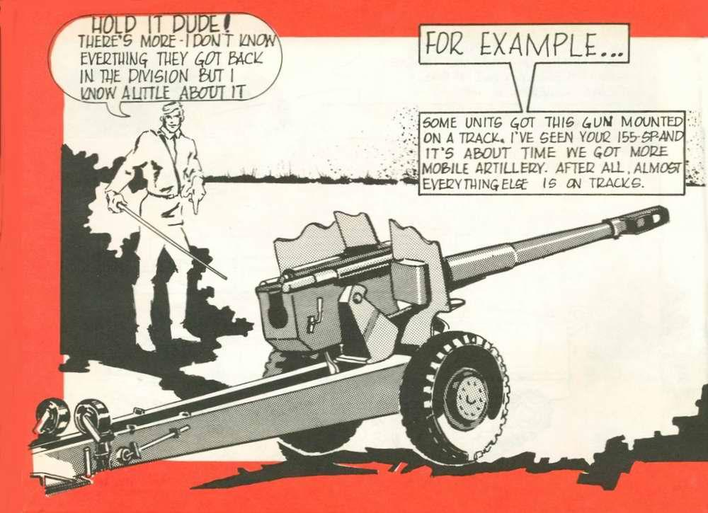 Общий вид артиллерийского орудия