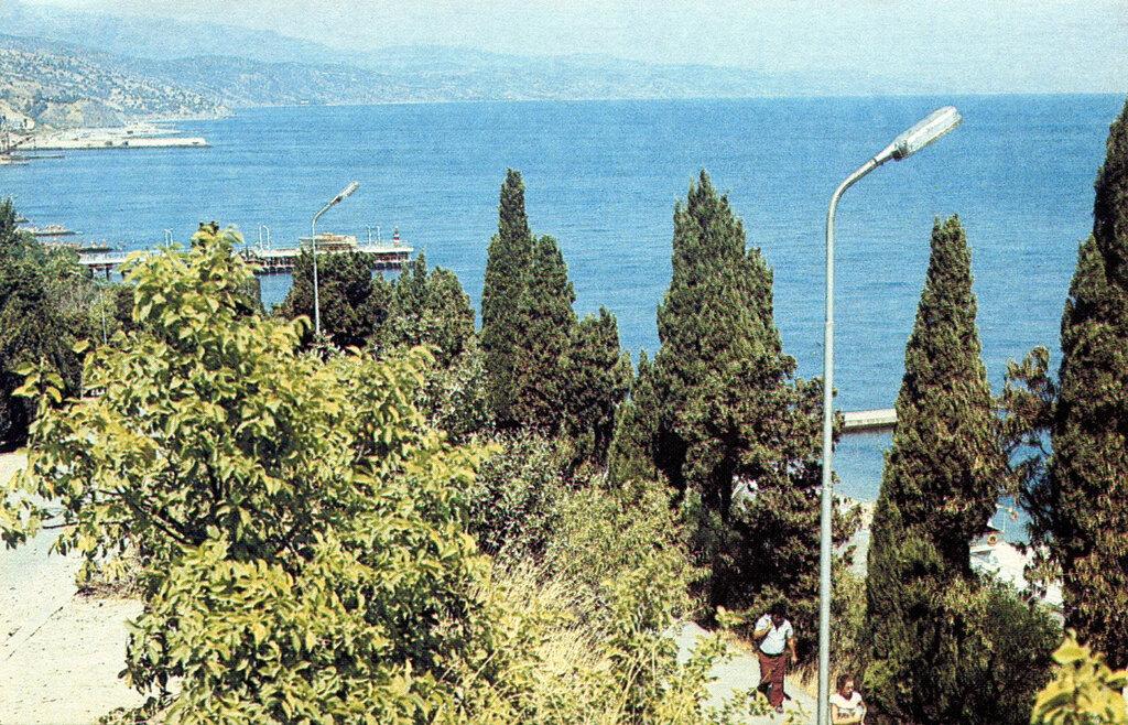 Как было раньше: фотографии Алушты в 1989 году фото 4