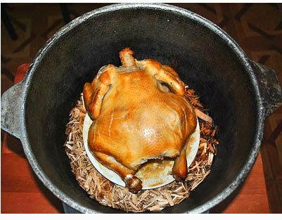 Копчёный цыплёнок и цыплёнок чкмерули