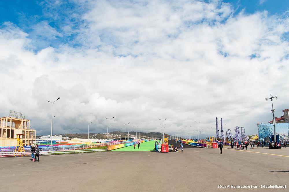 Олимпиада. Олимпийский парк. Адлер / День второй