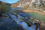 На Плитвицких водопадах