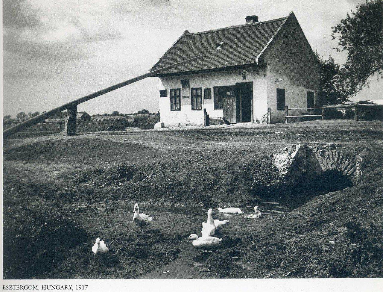 Эстергом, Венгрия, 1917