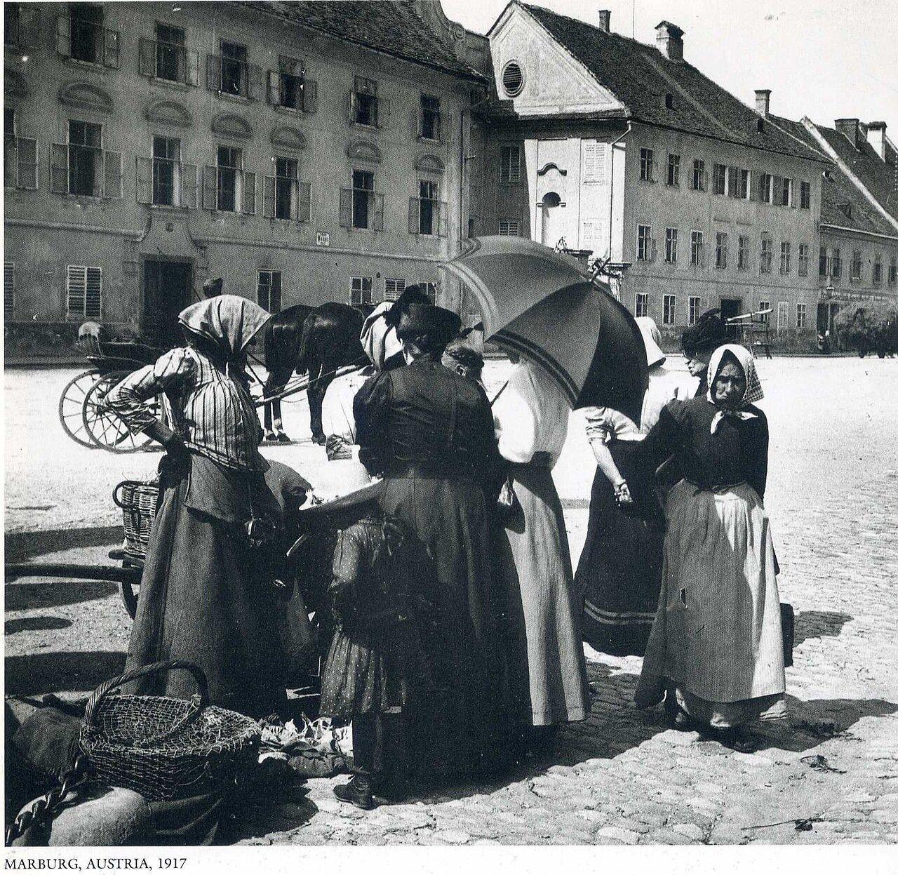 Марбург, Австрия. 1917