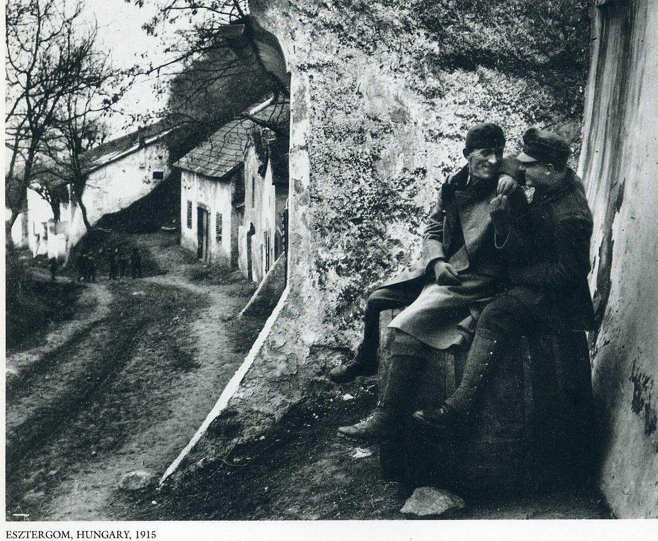Эстергом, Венгрия. 1915