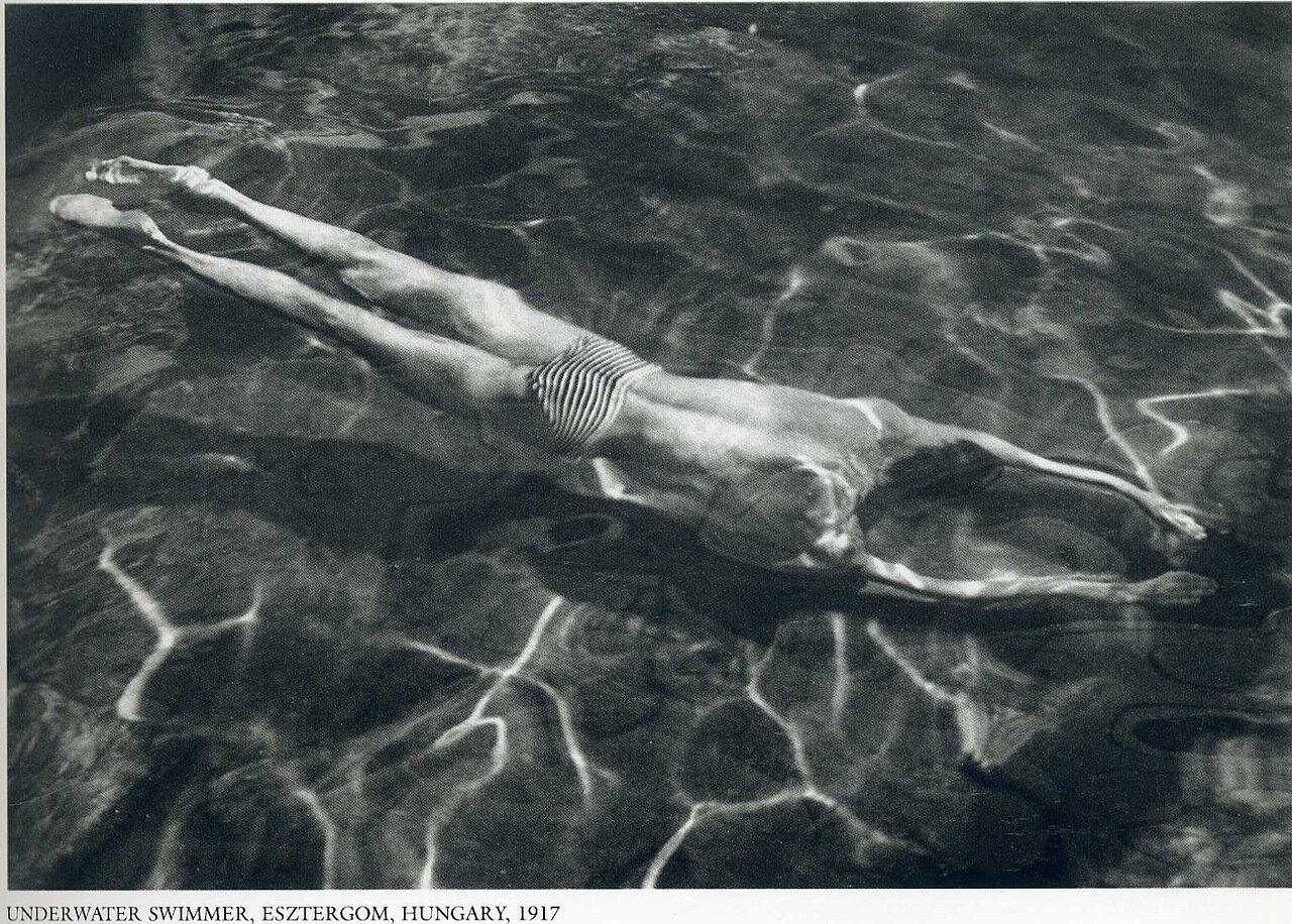 Подводное плавание. Эстергом, Венгрия.1917