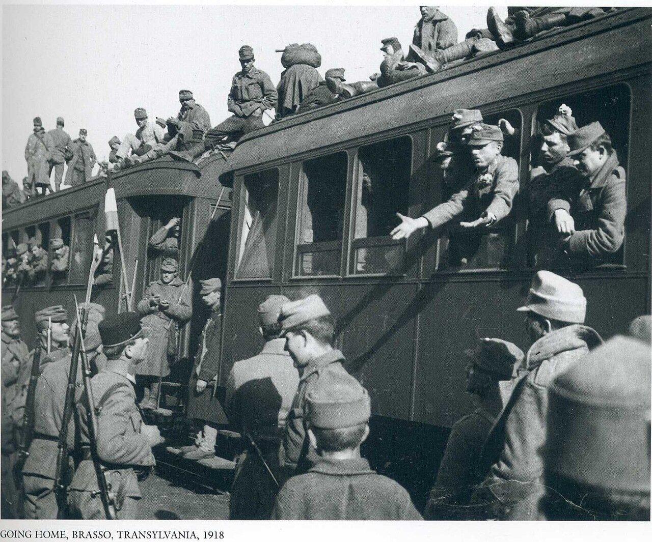 Возвращение домой. Брассо, Трансильвания. 1918
