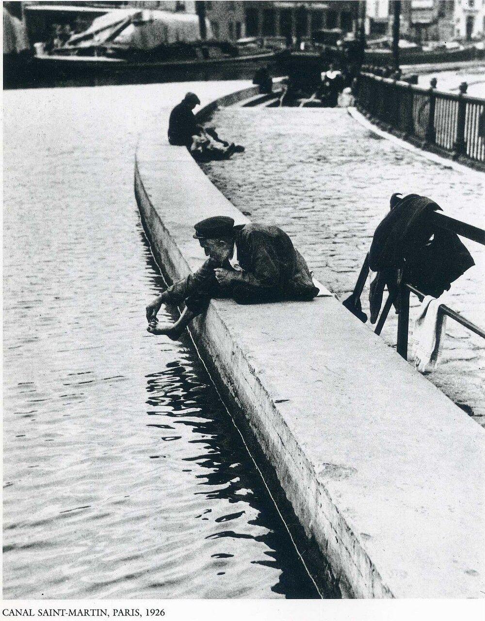 Канал Сен-Мартен. Париж, 1926