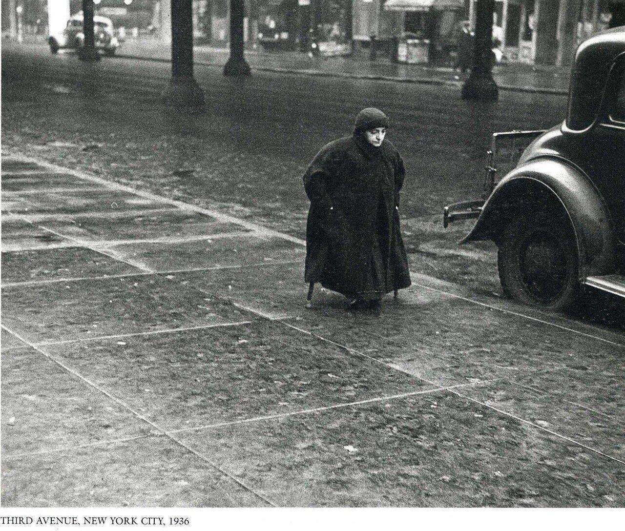 1936. Нью-Йорк. 3 авеню