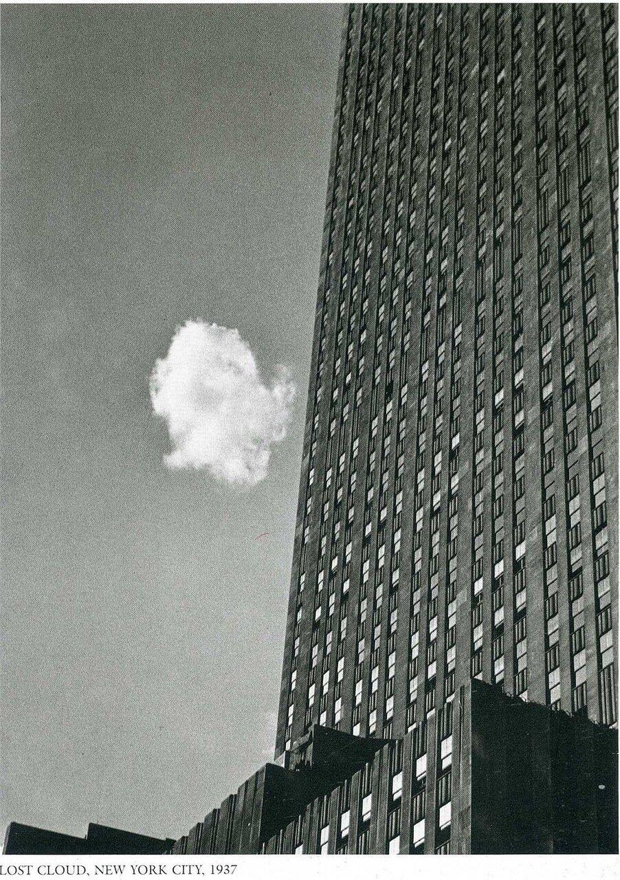 1937. Нью-Йорк. Отставшее облачко