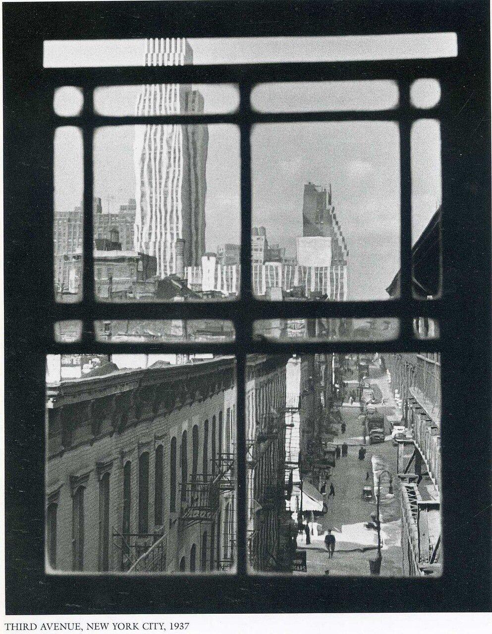 1937. Нью-Йорк, 3 авеню