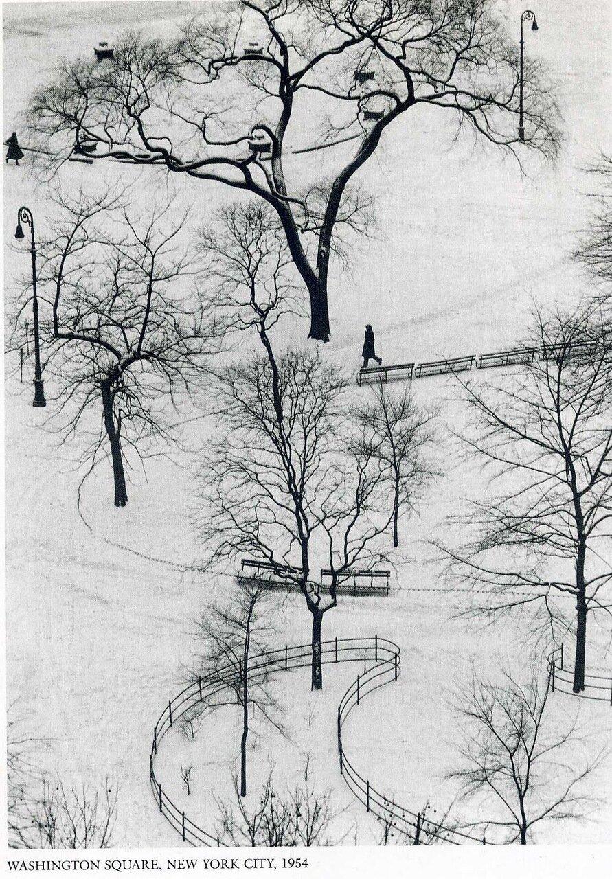 1954. Нью-Йорк, Вашингтонская площадь