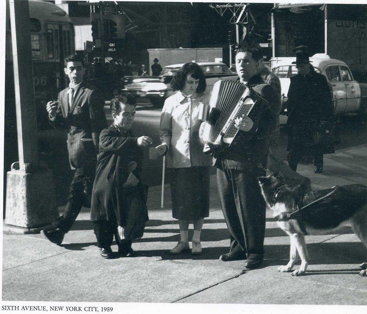 1959. Нью-Йорк, 6 авеню