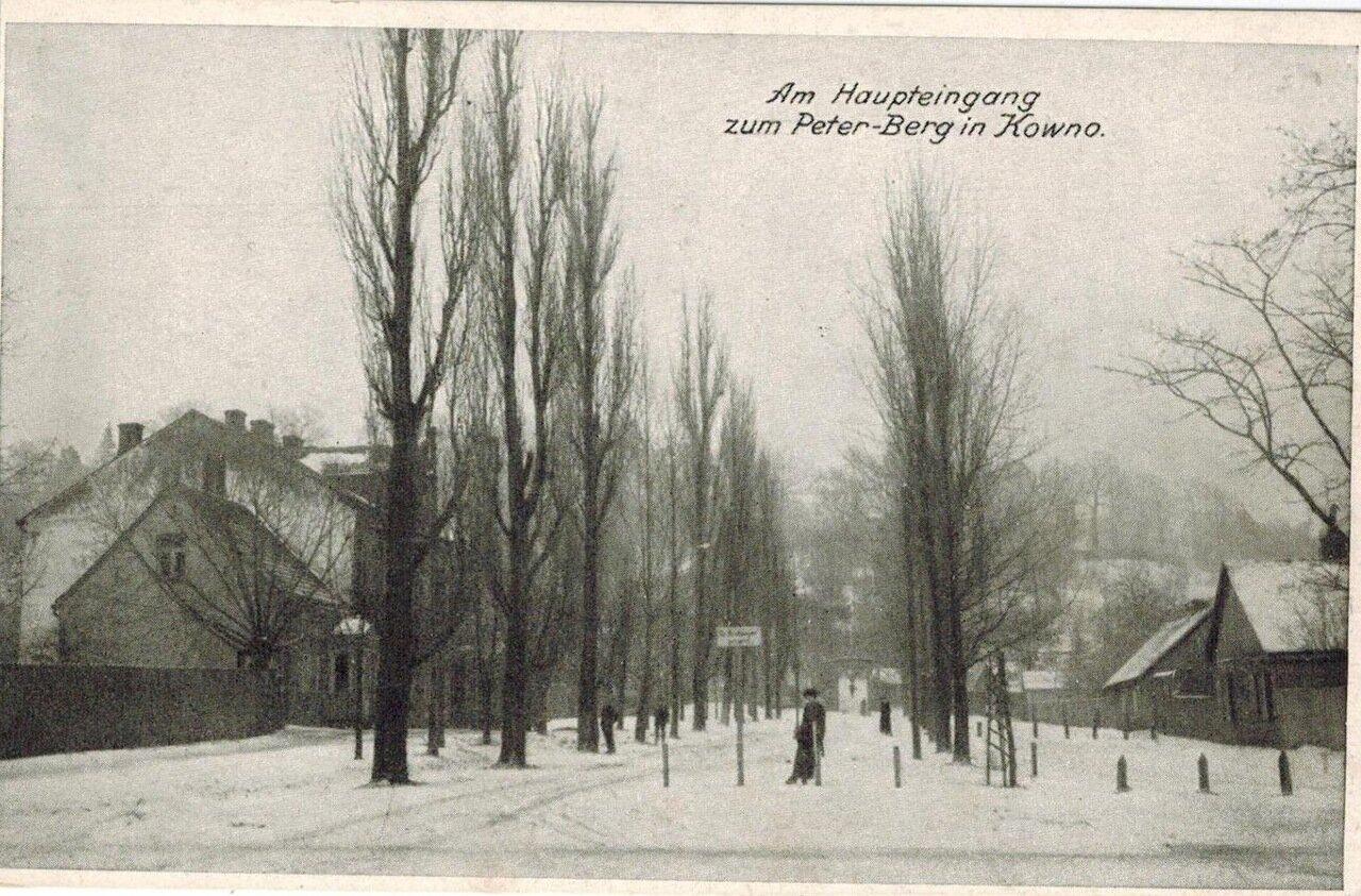 Улица в Ковно