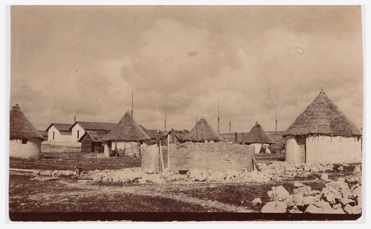 1918. Военный лагерь