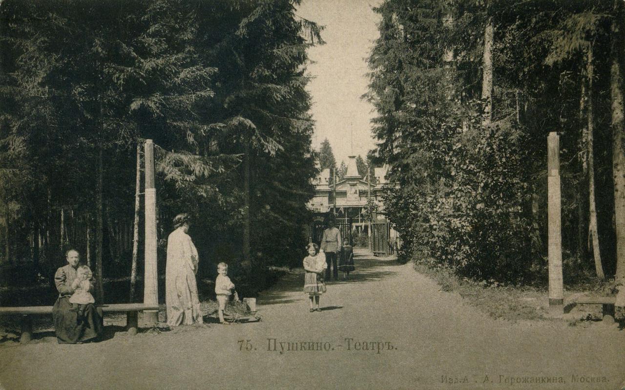 Окрестности Москвы. Пушкино. Театр