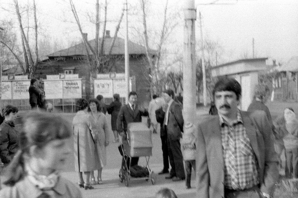 1984. Площадь у кинотеатра им.Степанова