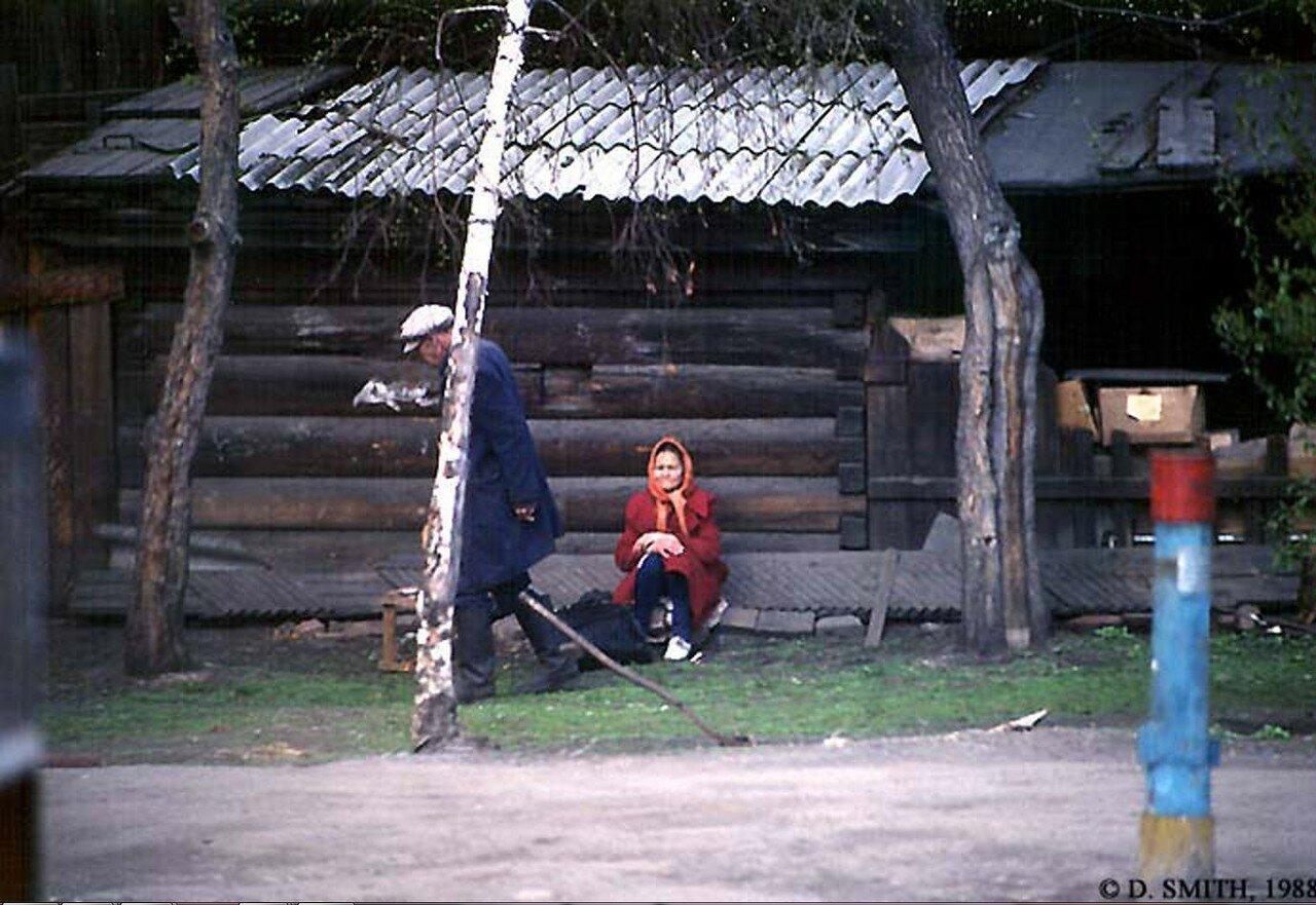В иркутском предместье