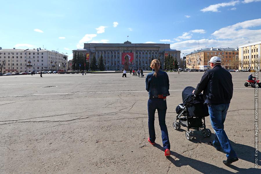 Театральная площадь Кирова, здание Администрации Кировской области