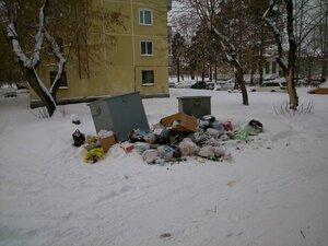 Как установив контейнеры для мусора, умудрится сделать свалку еще больше? МП ГЖКУ может…