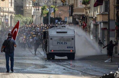 Волнения в Турции не утихают — протестные настроения