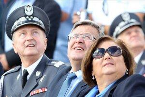 Prezydent na pokazach Air Show 2013 w Radomiu