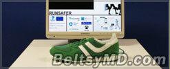 «Умные» кроссовки для бегунов создали в Германии