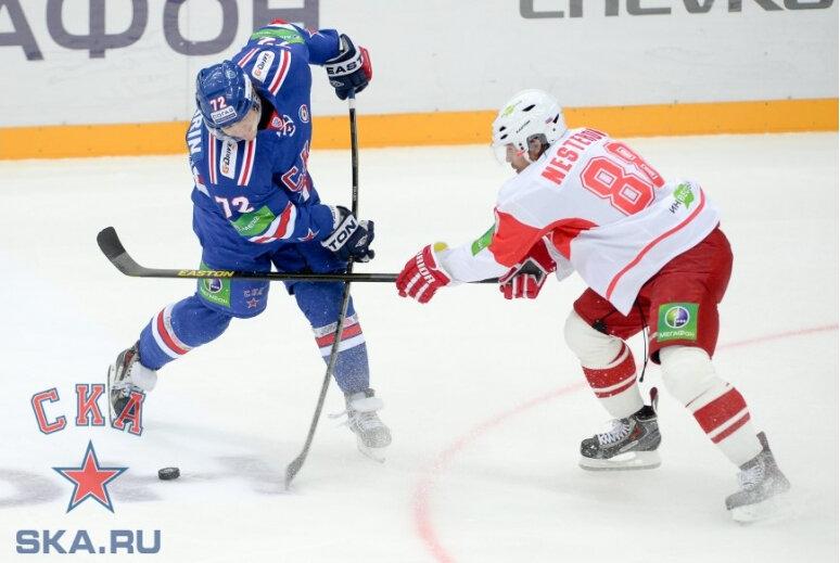 СКА vs «Спартак» 4:1 чемпионат КХЛ 2013-2014 (Фото)