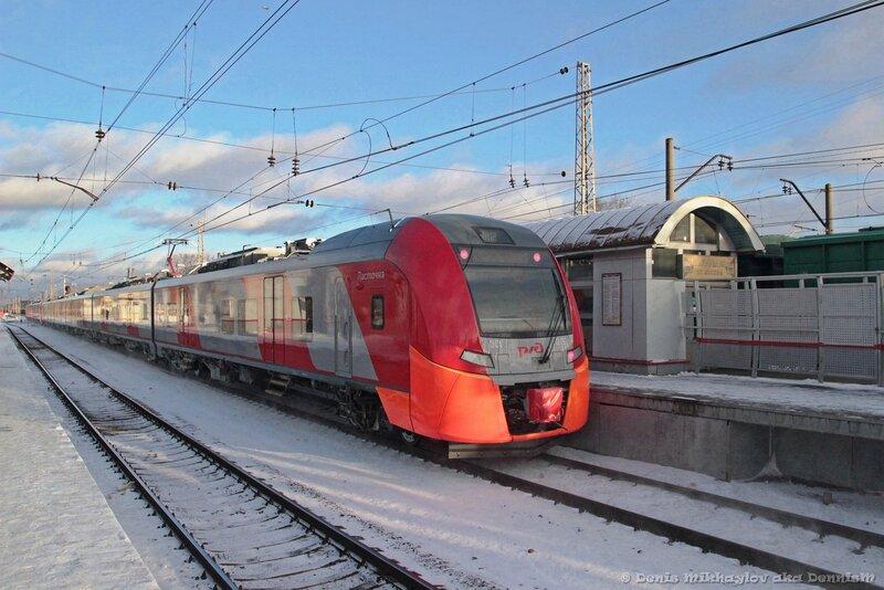 Электропоезд ЭС1-015.
