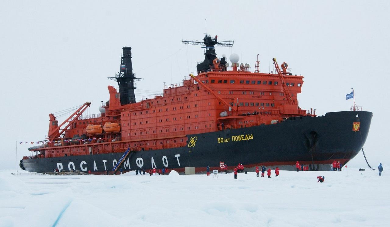Обои 50 лет победы, россия, судно, атомный ледокол, 10521, Атомфлот. Разное foto 9