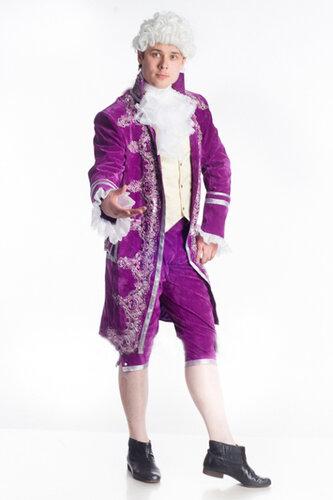Мужской карнавальный костюм Моцарт