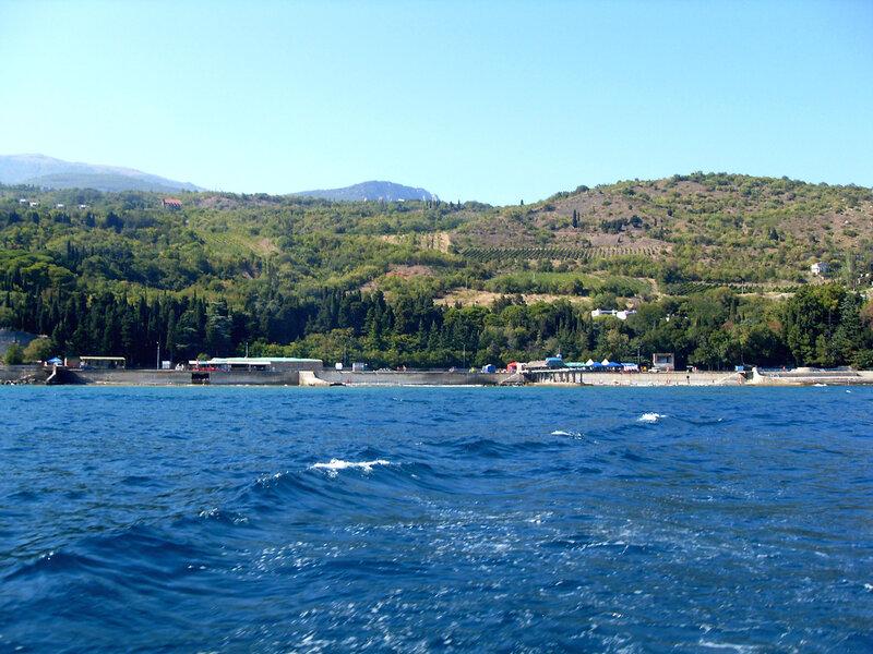Вид на берег