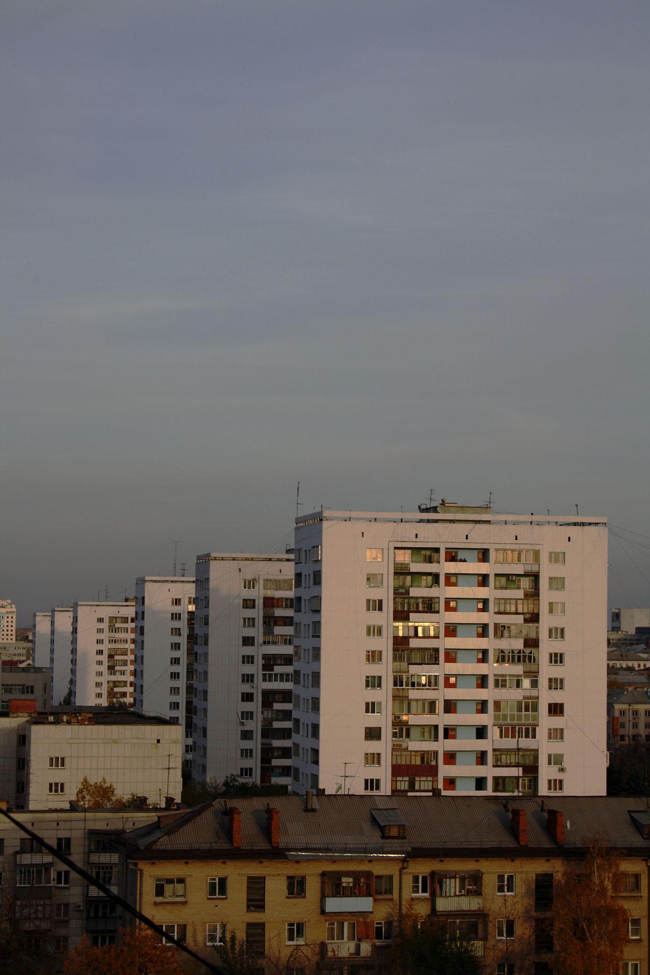 Дома Челябинска (27.11.2013)