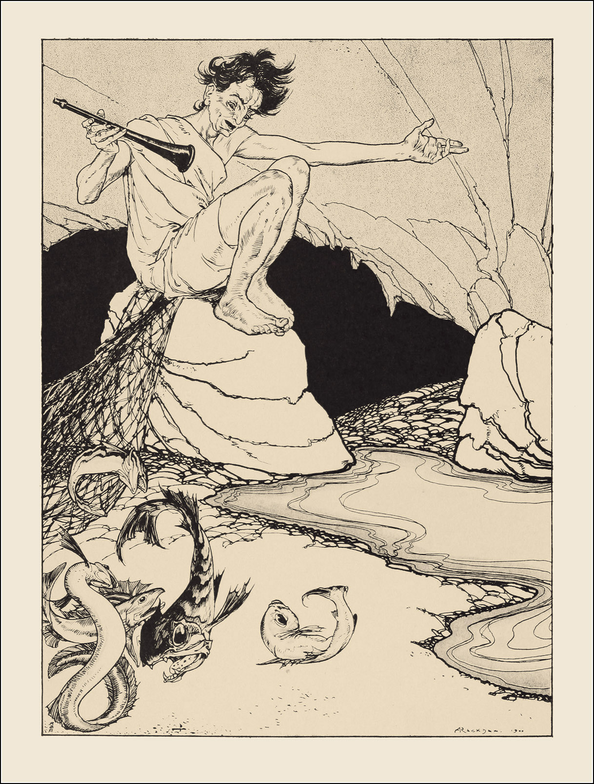 Arthur Rackham, The land of enchantment
