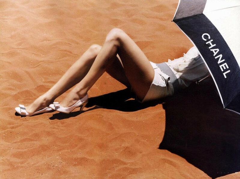 Модная коллекция для летнего отдыха от Chanel (фото)