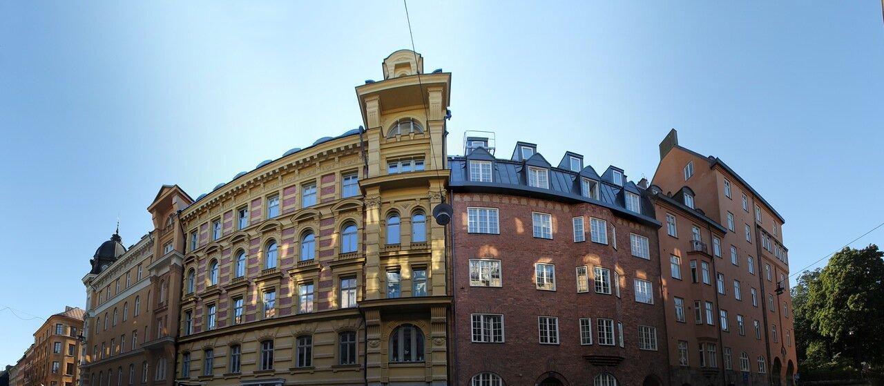 Стокгольм. Тегнергатан. Tegnérgatan