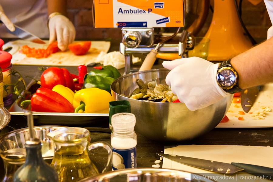 Кулинарный мастер-класс в поддержку конкурса Лучшие региональные блогеры.