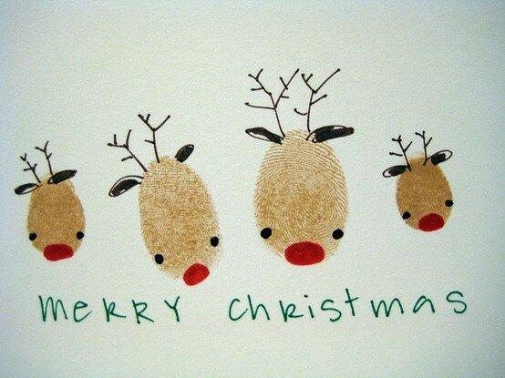 С наступающим! Новогодне-самодельные открытки для вас и для всех!
