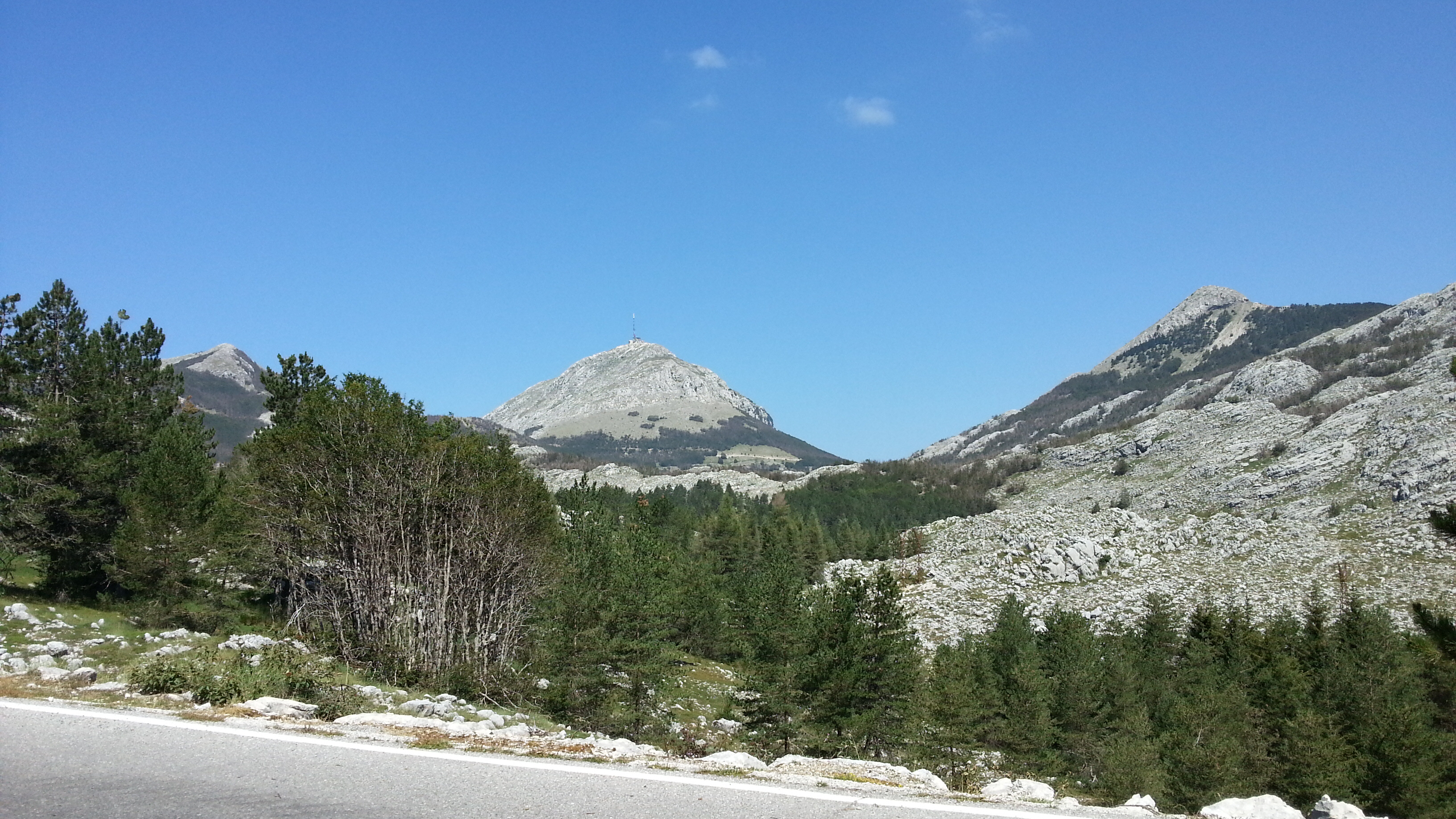 Самые высокие горы в Черногории.
