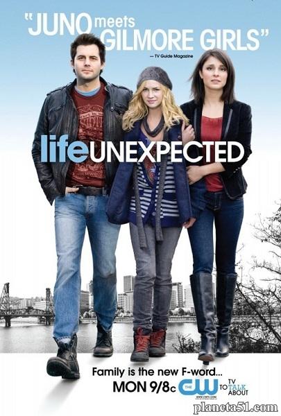 Жизнь непредсказуема (1-2 сезоны: 26 серий из 26) / Life Unexpected (2010-2011/WEB-DLRip)