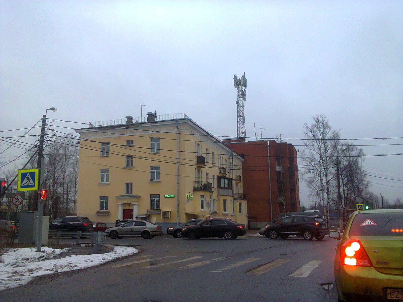 Сталинские дома в Белоострове